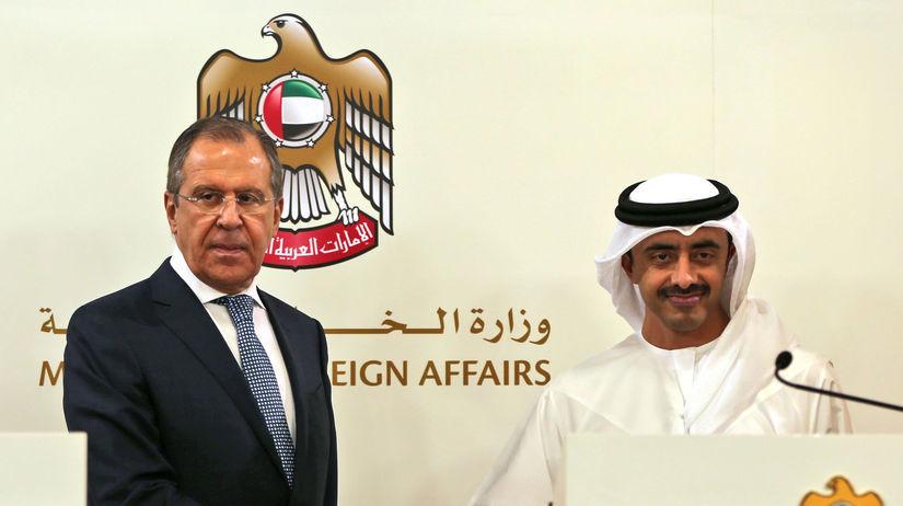 Sergej Lavrov, šejk Abdullah bin Zayed Al Nahyan
