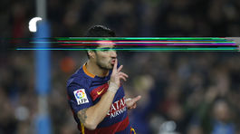 38d346391b782 Barcelona zničila Valenciu. Suárez a Messi súperovi strelili sedem gólov