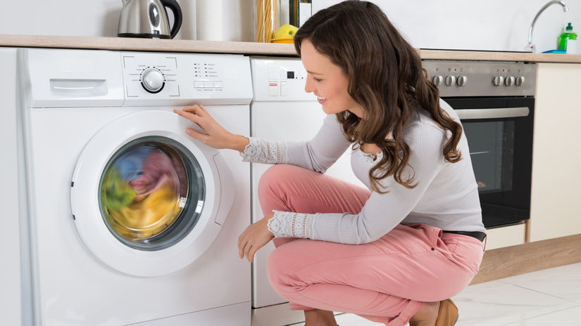 práčka, pranie