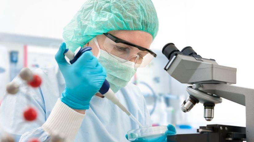 vedci, výskum, dna
