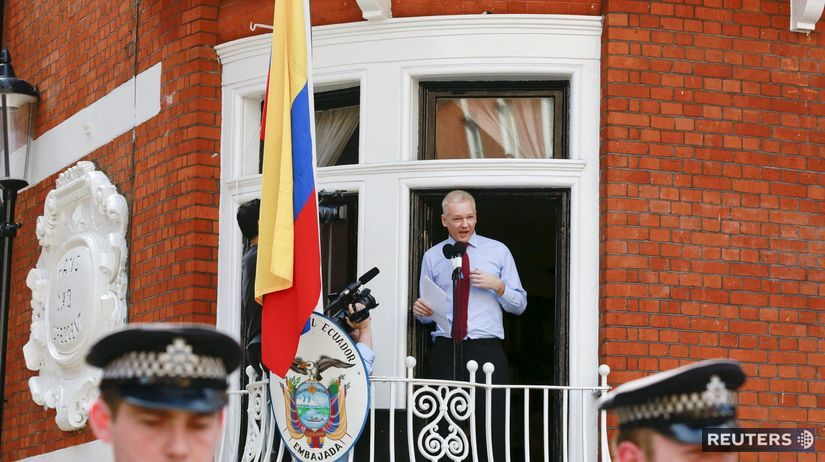 Ekvádor, ambasáda,Julian  Assange