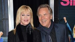 Melanie Griffith a jej bývalý manžel Don Johnson
