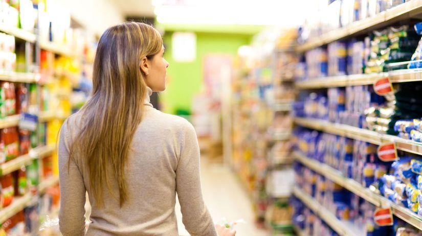 obchod, potraviny, nakupovanie,