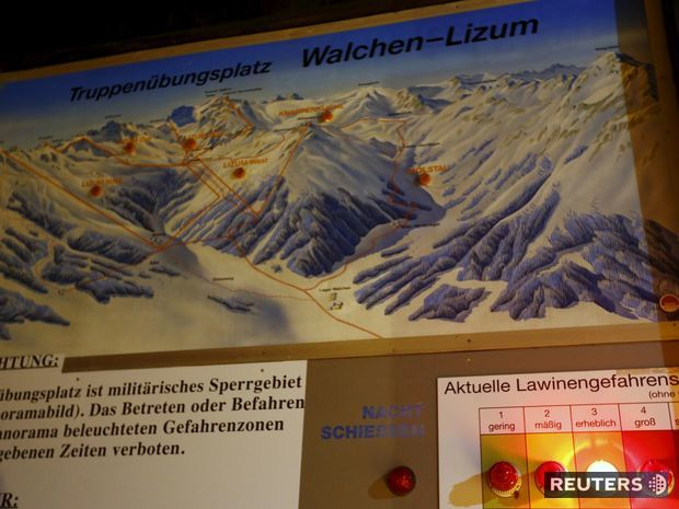 Rakúsko, lavínové nbezpečenstvo