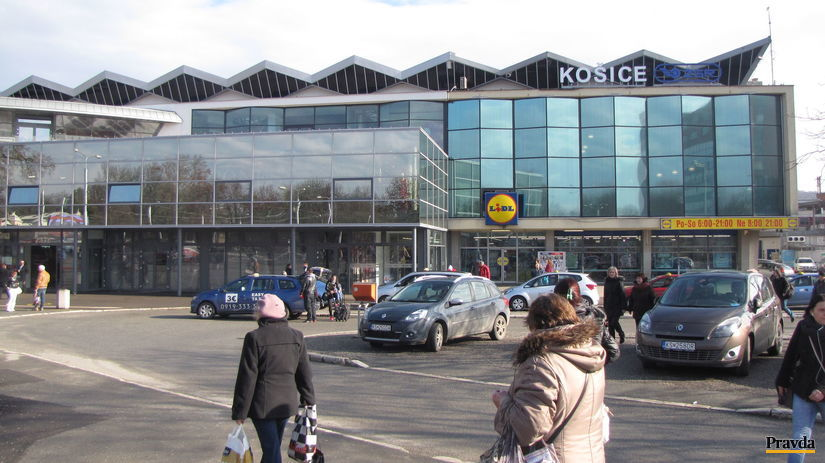 Košice, železničná stanica