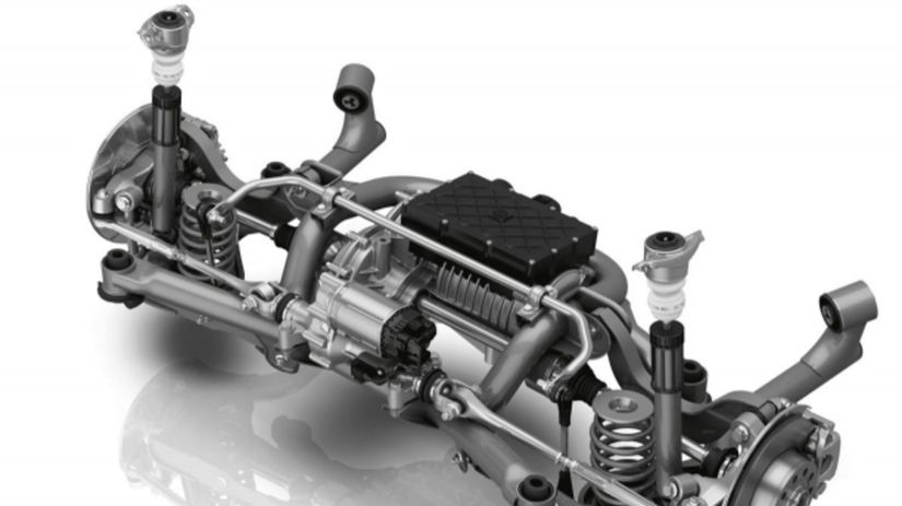 ZF - náprava s elektromotorom
