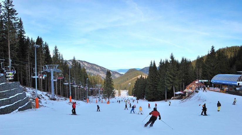 lyžovanie, sneh, lanovka