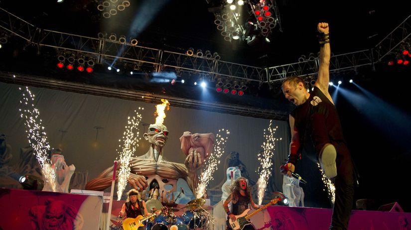 Skupina Iron Maiden príde so svojou šou do Žiliny.