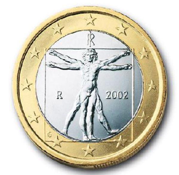 euro, minca, taliansko