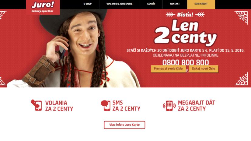 Juro, mobilný operátor, Slovak Telekom