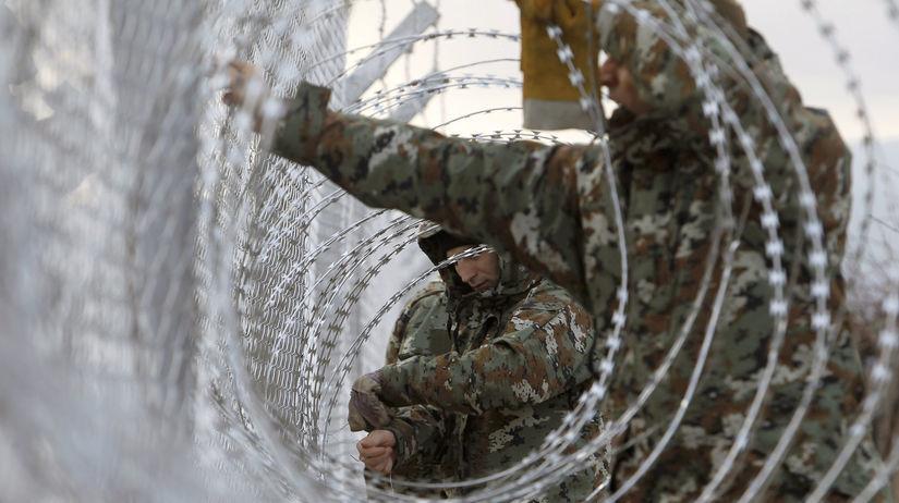 Macedónsko, hranice, vojaci