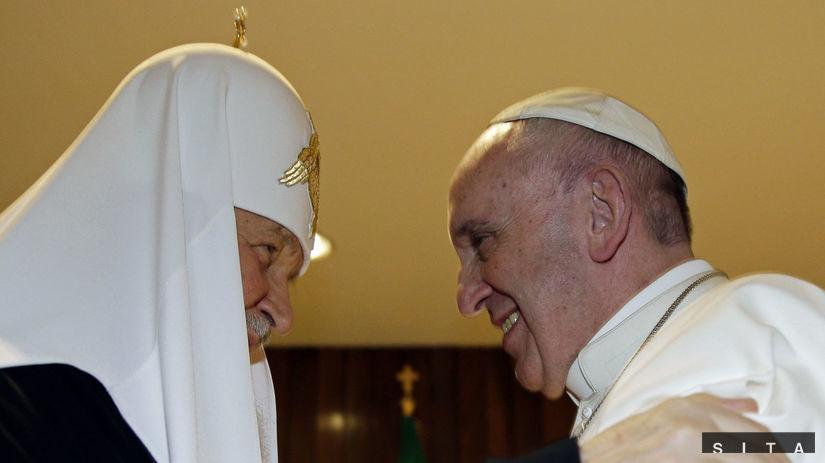 pápež František, patriarcha Kyrill
