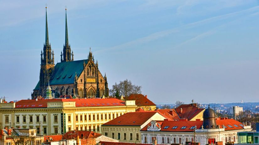 Brno, mesto, Petrov, Kostol sv. Petra a Pavla,...