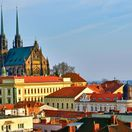 Brno, mesto, Petrov, Kostol sv. Petra a Pavla, mesto, Morava, Česko