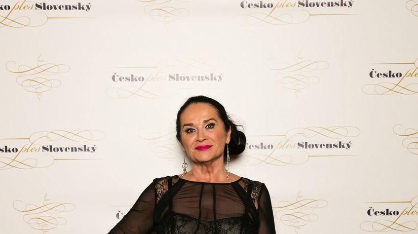 Herečka Hana Gregorová.