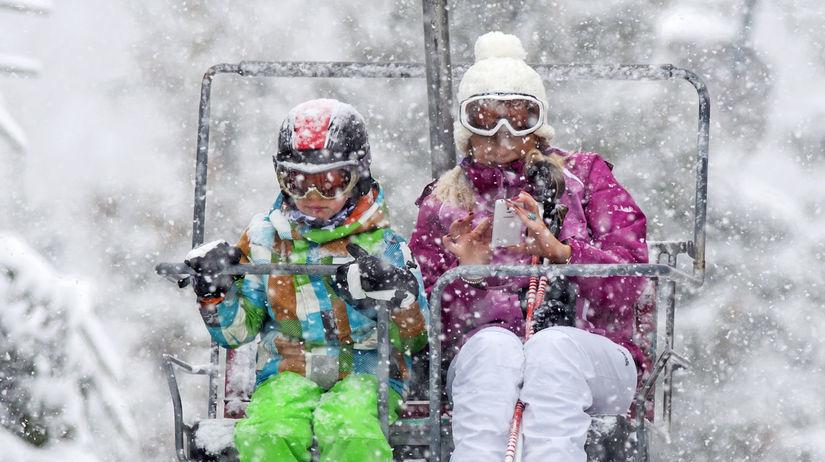 lyžovanie, lyžovačka, lyže, lyžiari, sneh,...