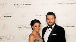 Moderátorka Gabriela Partyšová a Michal Hudák
