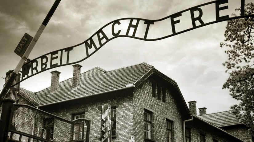 Osvienčim, holokaust, pracovný tábor,...