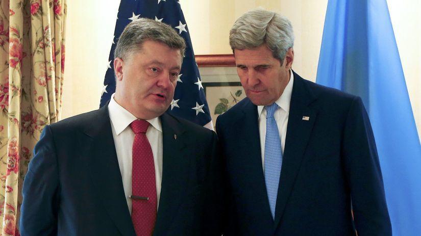 Petro Porošenko, John Kerry, Mníchovská...