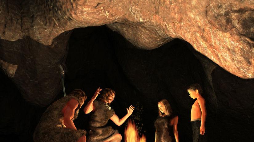 Pravek, jaskyňa, ľudia, praľudia
