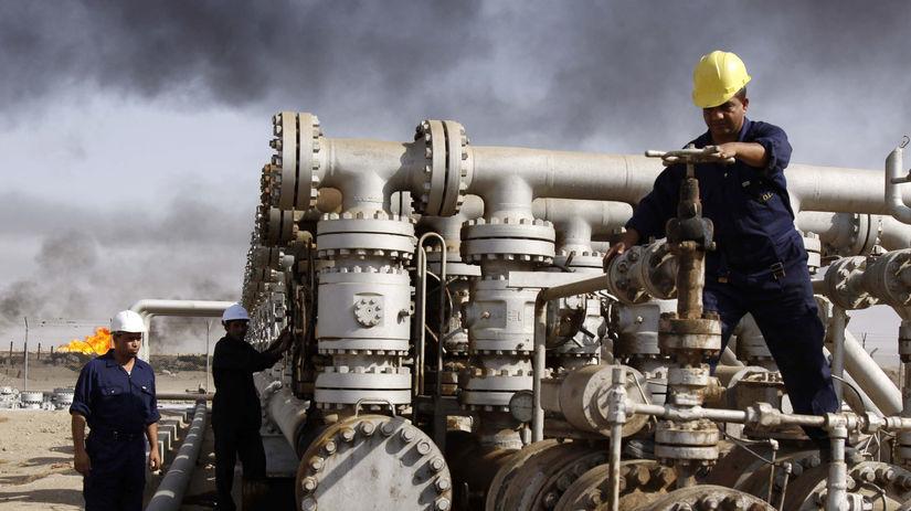 ropa, ťažba ropy, robotník, muž