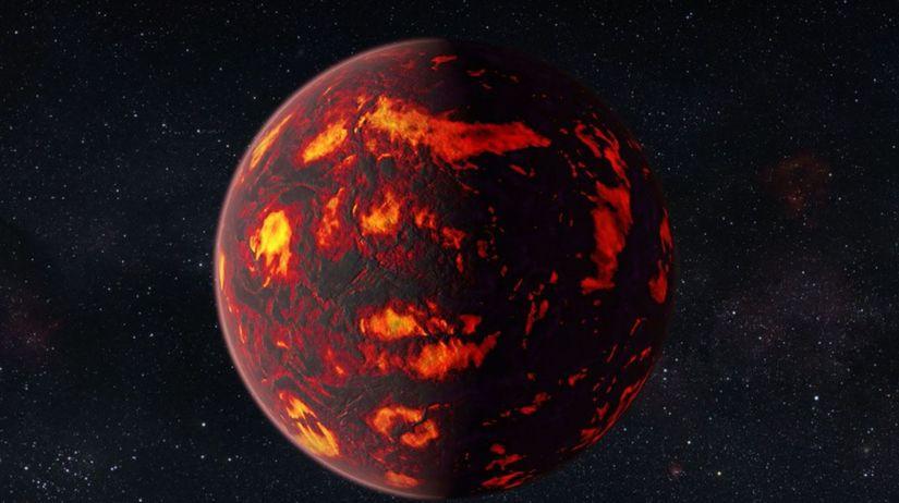 Exoplanéta 55 Cancri e, vesmír