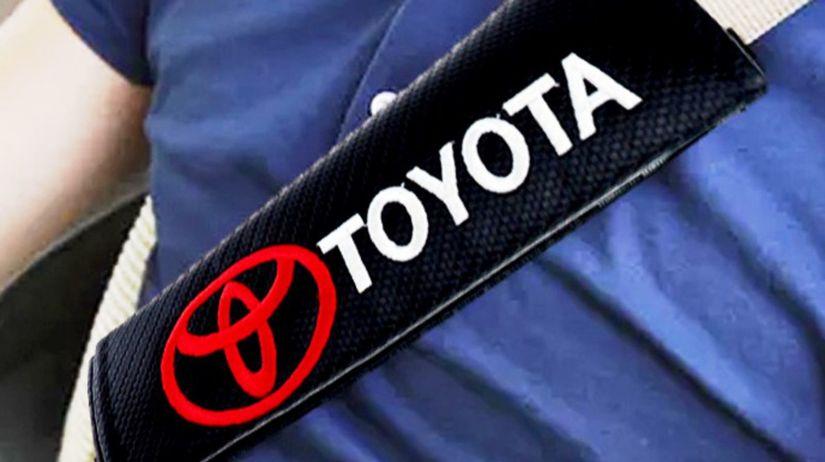 Toyota - bezpečnostné pásy