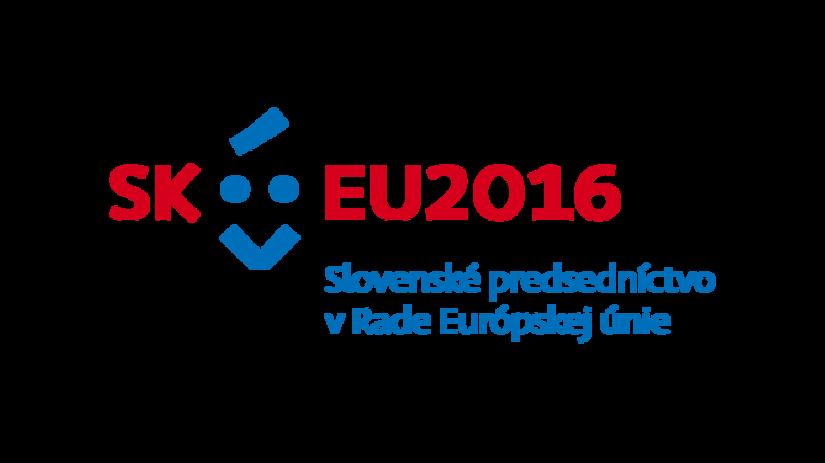 logo, Predsedníctvo Slovenska v Rade Európskej...