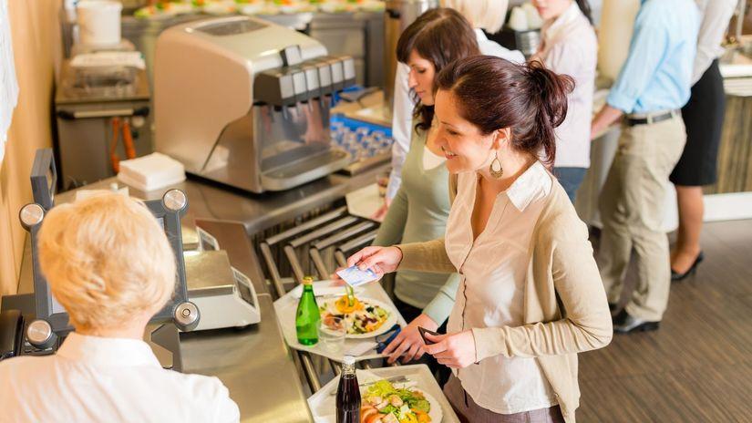 reštaurácia, gastrolístky, jedlo,