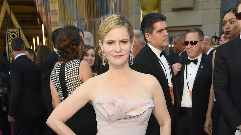 Herečka Jennifer Jason Leigh.