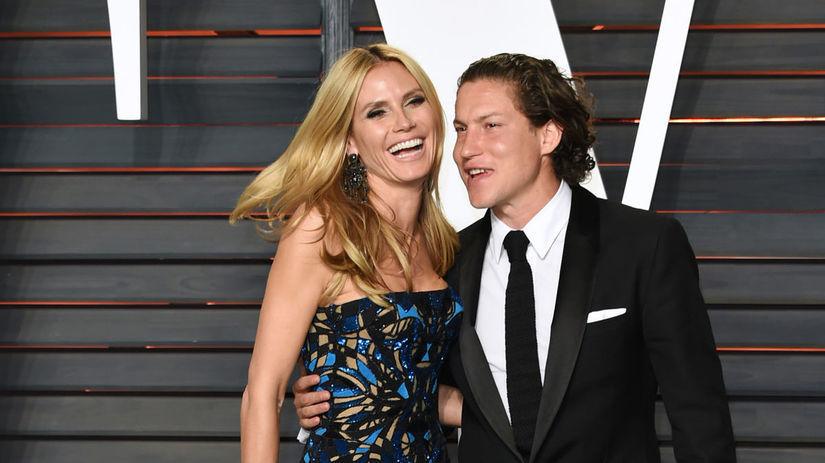 Modelka a televízna osobnosť Heidi Klum a jej...