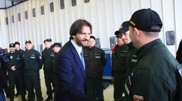 Robert Kaliňák, policajti, Grécko