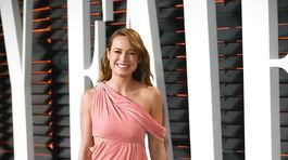 Víťazka Brie Larson sa na párty Vanity Fair prezliekla.