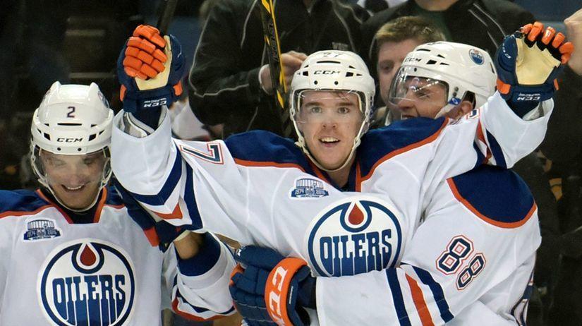 Edmonton Oilers, Andrej Sekera, Connor McDavid