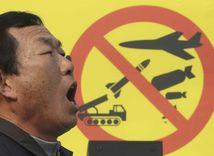 Južná kórea, demonštrácia, jadrové zbrane