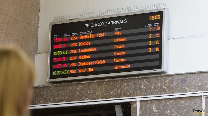 meskanie vlakov, zeleznicna stanica, hlavna...