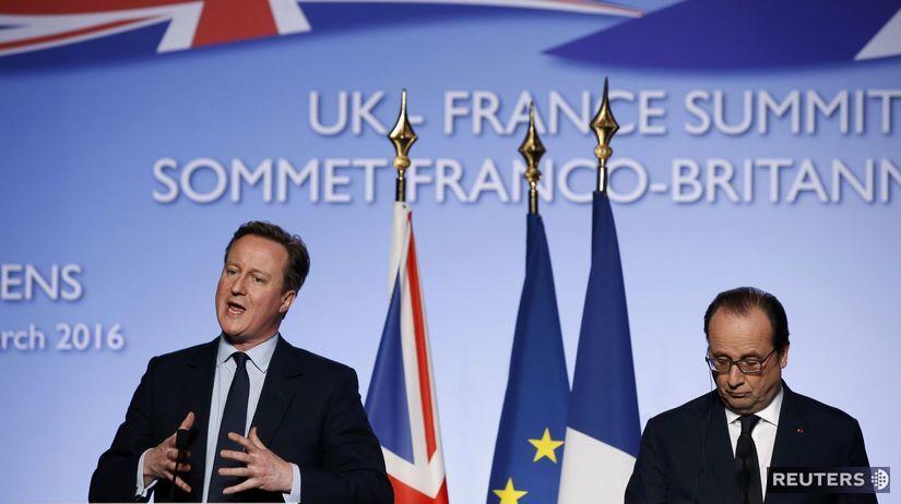 Francois Hollande, David Cameron, Amiens