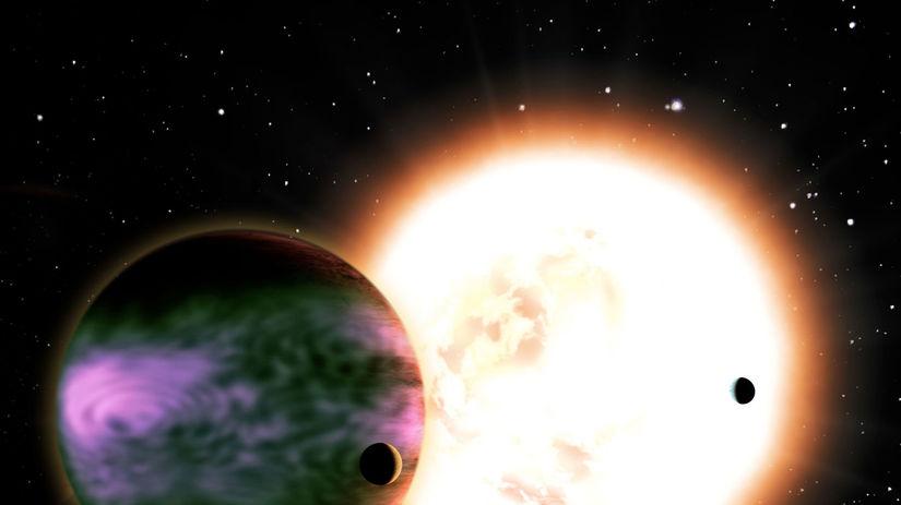 hviezda, planéta, vesmír, mimozemské bytosti,...