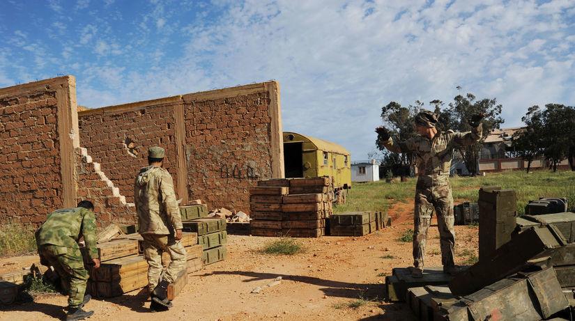 Líbya, vojaci