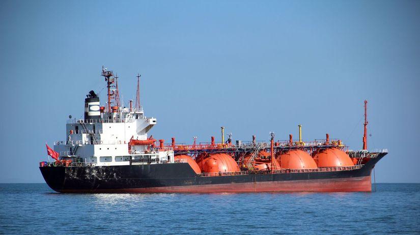 loď, nákladná loď, tanker, bridlicový plyn,