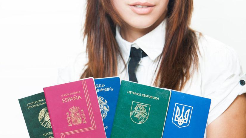 pasy, cestovné pasy, doklady, cestovanie,...