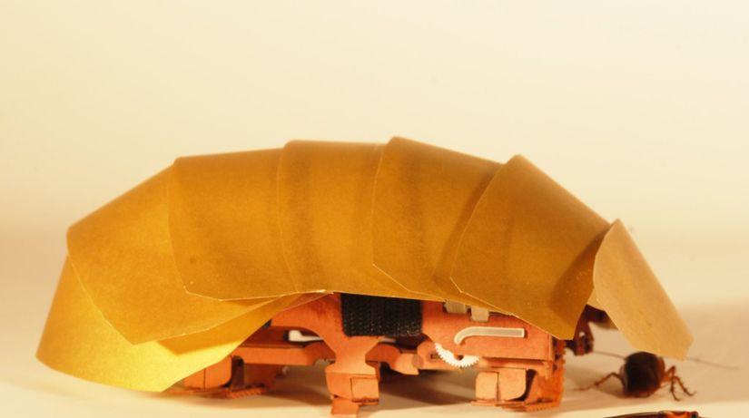 robot, šváb, CRAM