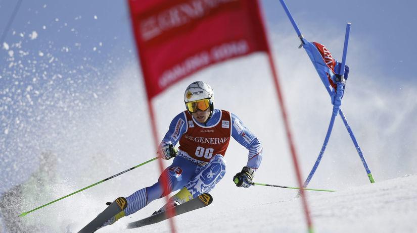 adam žampa, zjazdové lyžovanie