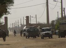Mali, Timbuktu, vojaci