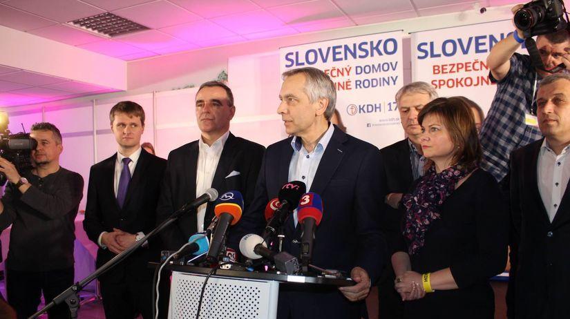 Ján Figeľ, voľby 2016, KDH