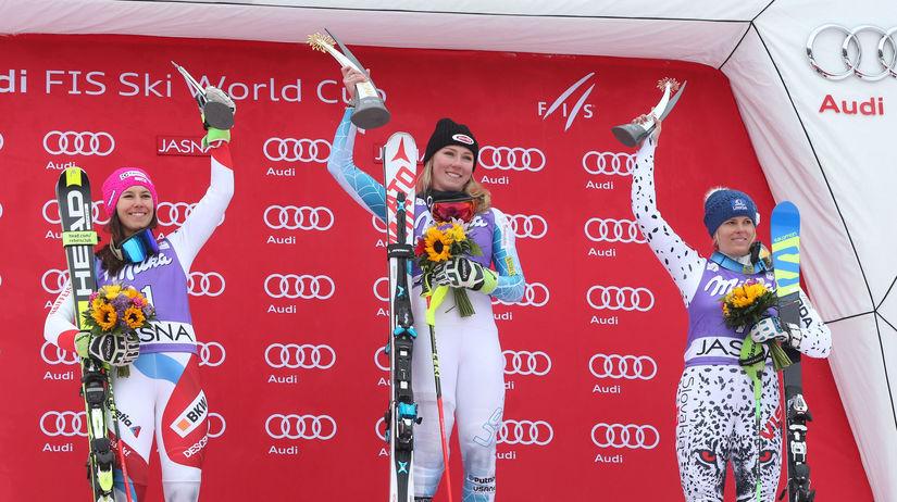 Jasna slalom Vendy Holdener Mikaela Shiffrin...