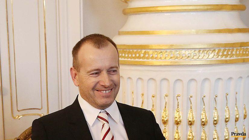 Kollar, stretnutie s prezidentom