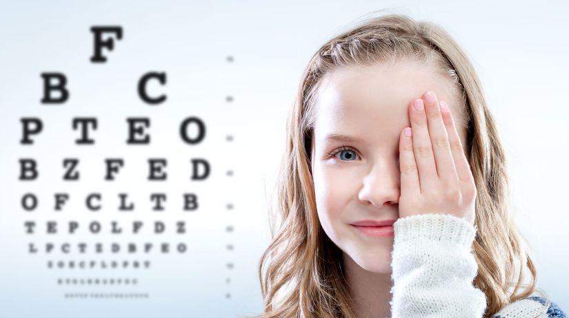 dieťa, zrak, oči, očný lekár