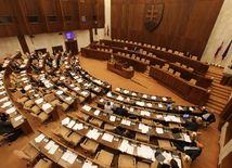 parlament, volba predsedu nku, rokovacia sala