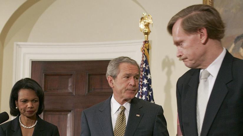 Condoleezza Rice, George Bush, Sudán
